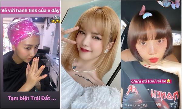 """Muôn vàn kiểu tóc đón Tết Canh Tý của mỹ nhân Việt: người """"ngoan"""" hẳn, người chỉ xin được về """"hành tinh mẹ"""""""