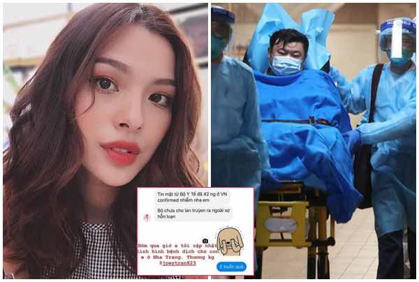 """Tú Hảo tung """"tin mật"""" của Bộ Y tế về virus Vũ Hán, bị dân tình ném đá còn mạnh mồm đáp trả"""
