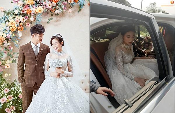 Mặc hẳn váy cưới 600 triệu, Nhật Linh không ngờ nó lại khiến cô gặp rắc rối trong ngày trọng đại