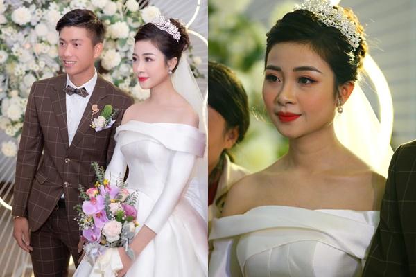"""Vợ mới cưới bị chê bai nhan sắc, Văn Đức ngay lập tức """"nịnh"""" vợ: """"Chiếc váy trắng tinh khôi mộc mạc như chính con người em"""""""