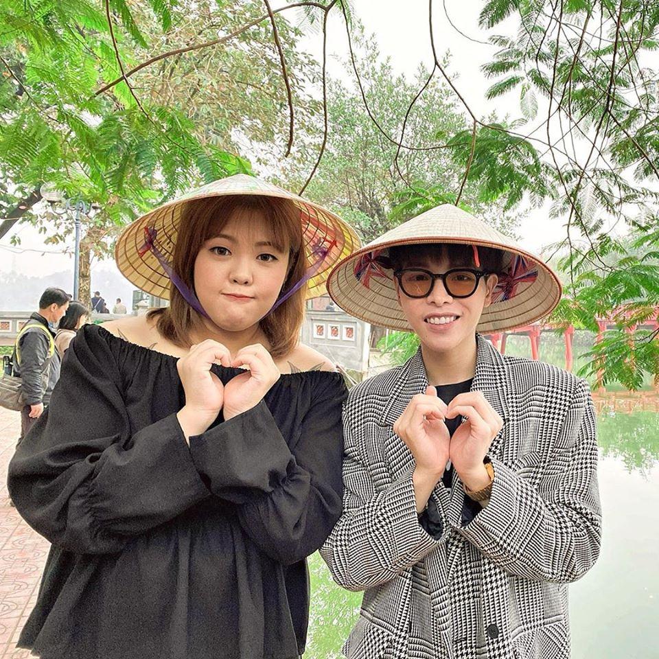 Đức Phúc hội ngộ cùng thánh ăn Hàn Quốc Yang Soobin rủ nhau đu đưa quanh Hà Nội