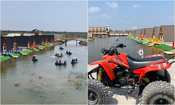 Hot rần rật Khu du lịch trên sông mới khai trương ở sát xịt Sài Gòn