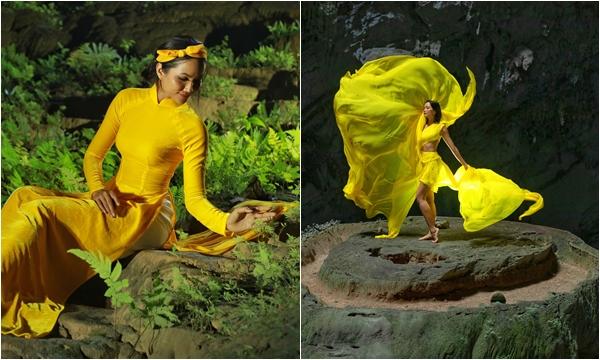 """H-Hen Niê thực hiện lại cú """"xoay váy"""" thần thành giữa rừng núi Sơn Đòong, đã hoa hậu nào làm được như thế"""