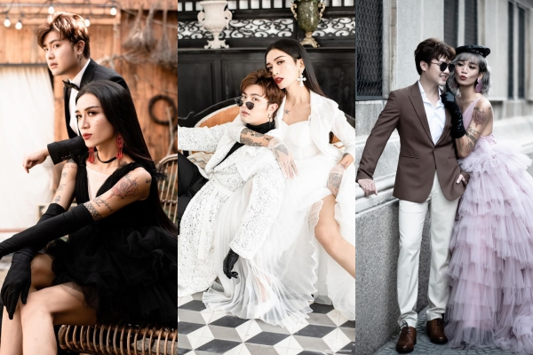 Nhá hàng bộ ảnh cưới 3 concept, không nhẽ BB Trần và bạn trai sắp có tin vui?