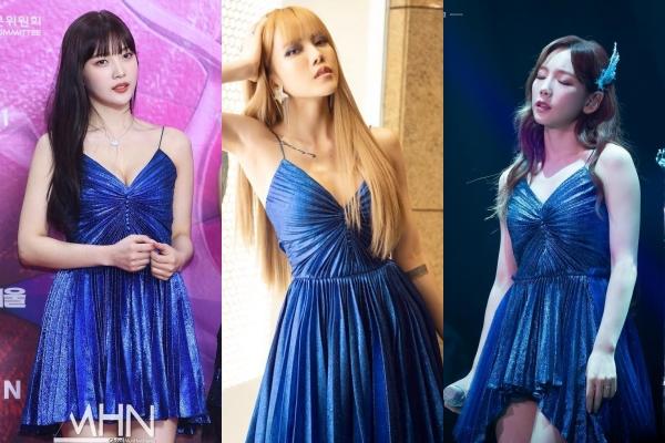 """Đụng hàng """"đầm Elsa"""" với visual nhà SM, Thiều Bảo Trâm sở hữu thần thái chẳng hề kém cạnh mỹ nhân xứ Hàn"""