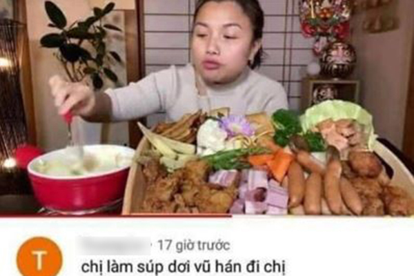 """Yêu cầu làm món súp dơi Vũ Hán, fans vô duyên bị Quỳnh Trần JP """"bêu riếu"""" khắp mạng xã hội"""