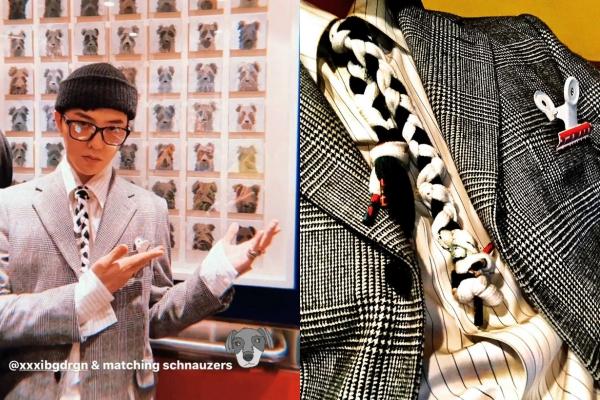 Thánh tạo trend G-Dragon tái xuất: Hết buộc ngược lại lấy dây giày làm cà vạt