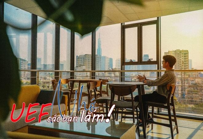 """Thêm 1 tuần nghỉ học để phòng dịch Corona, UEF tung ảnh đẹp như phim Hàn bày tỏ nỗi nhớ sinh viên """"ngọt lịm"""""""