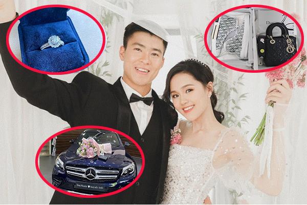 """Tài sản """"khủng"""" của Duy Mạnh, Quỳnh Anh khi về chung nhà: Nhà lầu, xế hộp tiền tỷ, hàng hiệu sang chảnh"""
