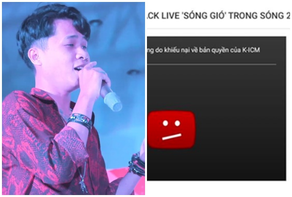 Góc mặt dày: Thấy Jack live Sóng gió, công ty K-ICM đánh bản quyền sập video vì ghen tức
