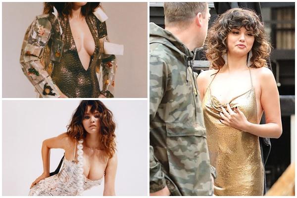 Bị chê béo nhưng Selena Gomez vẫn không ngần ngại mặc những bộ đồ hết sức gợi cảm khoe thân hình táo bạo
