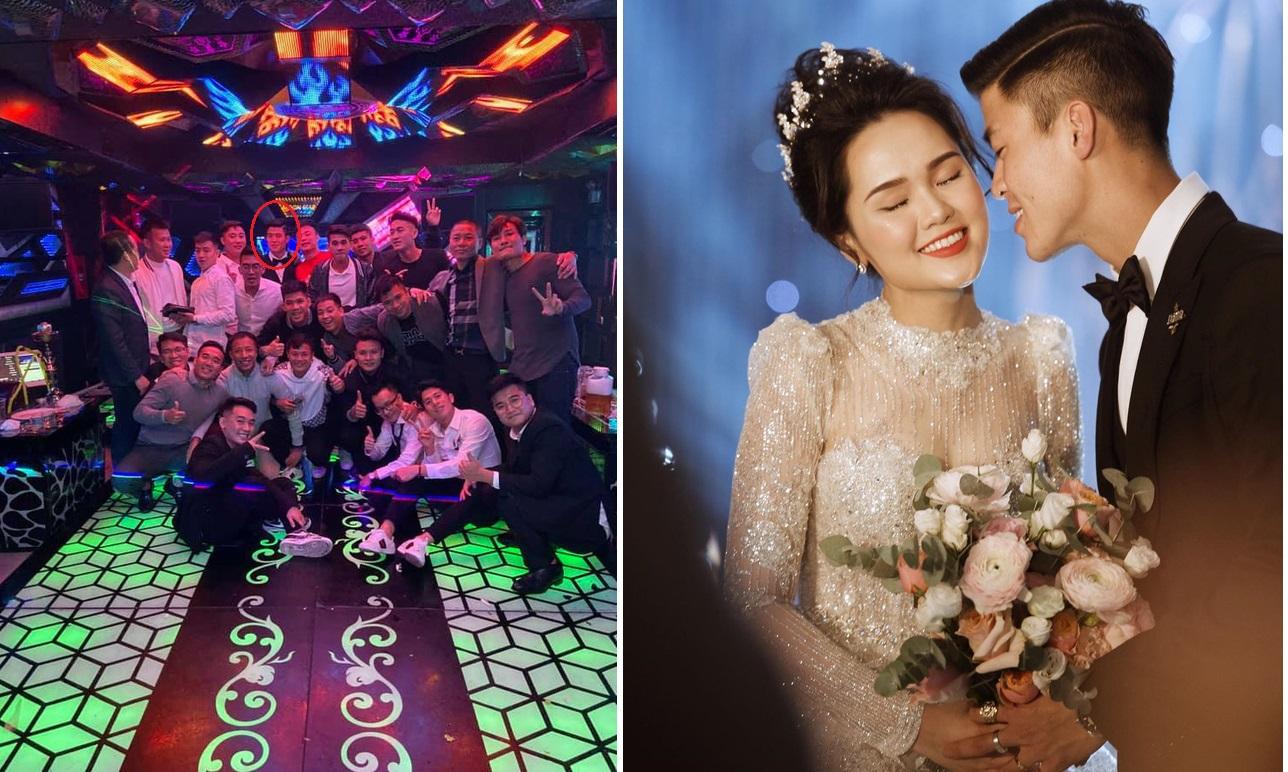 Chán Duy Mạnh ghê, lễ cưới vừa xong đã lên bar quẩy tăng hai đến sáng, bỏ mặc Quỳnh Anh tân hôn một mình!