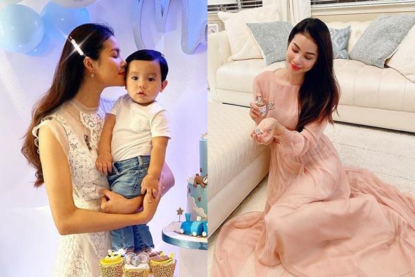 Làm mẹ bỉm sữa nhưng Phạm Hương vẫn nhất nhất không xuề xòa, đại khái, nhìn như gái chưa chồng