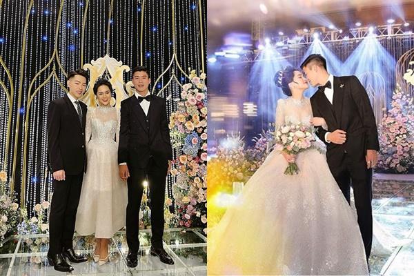 """Chỉ 1 chi tiết """"độc nhất vô nhị"""" trên váy cưới chứng tỏ độ """"chịu chơi"""" của cô dâu Quỳnh Anh (Duy Mạnh)"""