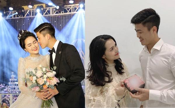 """Valentine đầu tiên về chung 1 nhà, Duy Mạnh tặng Quỳnh Anh món quà bất ngờ, dân mạng thi nhau ăn """"bánh gato"""""""