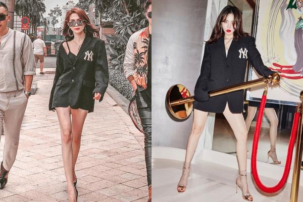 Mặc mốt đi sau mỹ nhân quyến rũ nhất Hàn Quốc tận 5 năm, Ngọc Trinh nay đã đẳng cấp và sang trọng hơn gấp bội phần