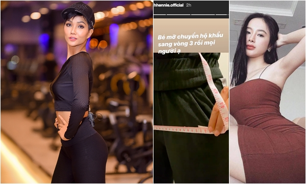 HH H-Hen Niê công khai số đo vòng hông mới đạt mức đến Angela Phương Trinh cũng phải dè chừng