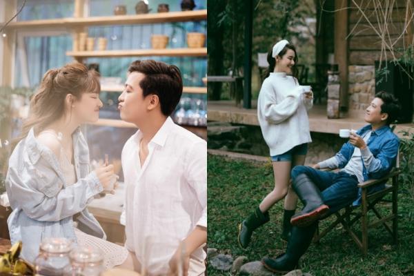 Tung bộ ảnh ngọt ngào đón Valentine, Trường Giang - Nhã Phương khiến dân tình chỉ muốn cưới ngay và luôn