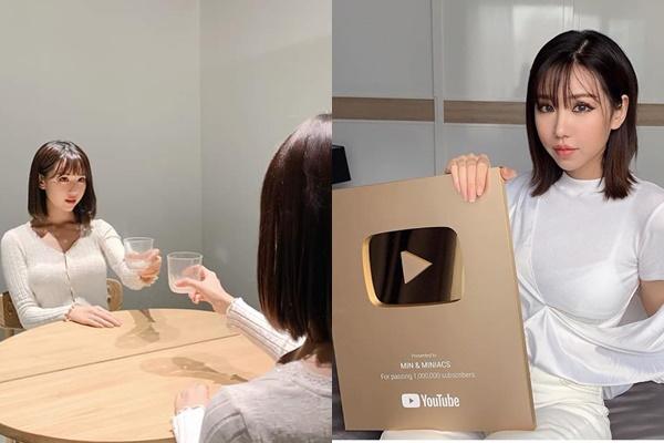 """Tung ảnh đón Valetine, Min khiến người hâm mộ """"giật mình"""" vì gương mặt như búp bê Nhật Bản"""