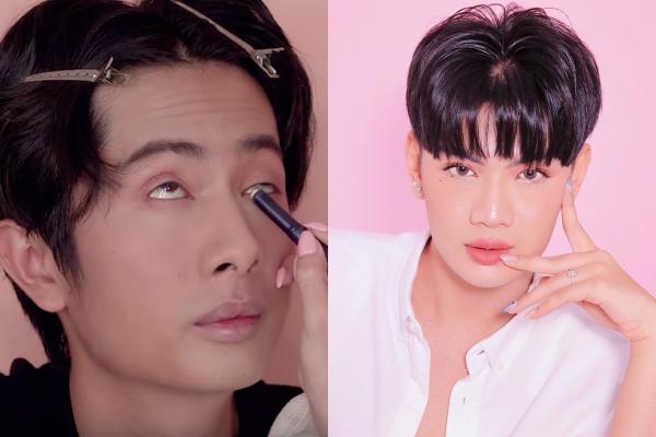 Sĩ Thanh trổ tài makeup cho bạn trai, thế nhưng thành quả khiến CĐM bất ngờ vì quá giống Đào Bá Lộc