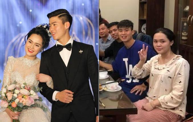 """Duy Mạnh """"dùng vợ như phá"""", vừa cưới một tuần mà Quỳnh Anh đã hóa """"bà thím"""" thế này!"""