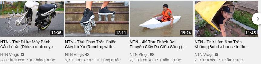 """Bị """"ném đá"""" vì làm toàn clip vô bổ, vlog NTN đáp trả: Có tiền là có tất cả, những người ghét tôi đều kém tôi về tài chính"""