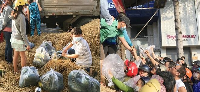 """Nam thanh niên Sài Gòn """"giải cứu"""" 28 tấn dưa hấu phát miễn phí cho người dân"""