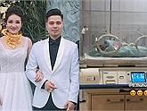 Cô dâu đeo 200 cây vàng vừa sinh con đầu lòng, hé lộ chân dung em bé rich kid ngậm thìa vàng từ trứng nước