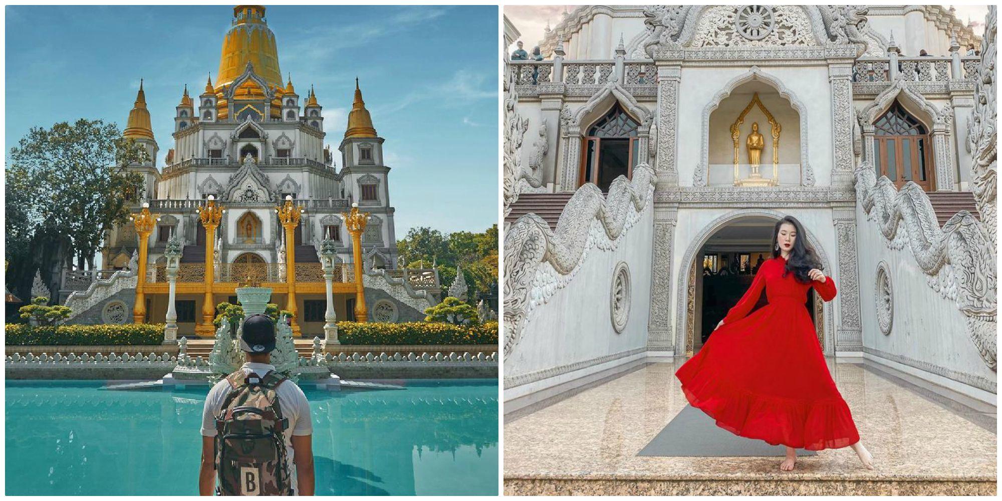 Đẹp quên lối về ngôi chùa nằm trong top 10 ngôi chùa đẹp nhất thế giới ngay ở Sài Gòn