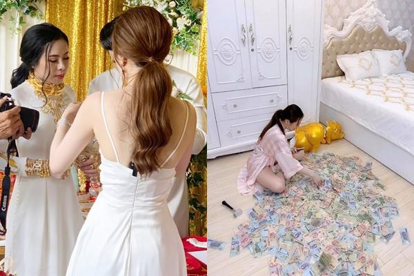 Nghề nghiệp của người chị trao 49 cây vàng 2,5 tỷ tiền mặt của hồi môn cho em gái: Bảo sao giàu thế!