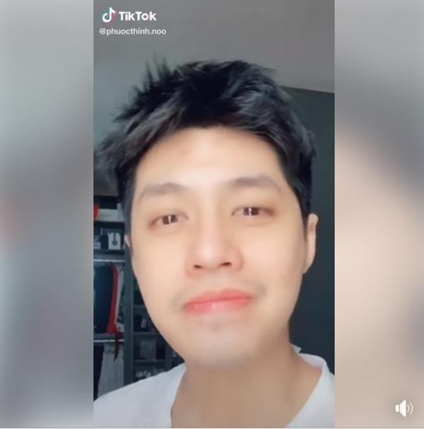 """Ngủ dậy chưa cạo râu đã quay TikTok, Noo Phước Thịnh vẫn được fan khen tới tấp: """"Mặt cưng xỉu"""""""