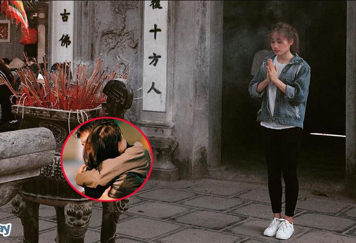 """Đi chùa Hà cầu duyên, vừa ra cổng cô gái đã va phải """"chân ái"""", lại còn là đàn anh thư sinh khóa trên đang học thạc sĩ!"""