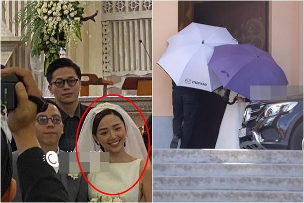 Rò rỉ ảnh hiếm trong đám cưới Hoàng Touliver- Tóc Tiên sáng nay, cô dâu cười phớ lớ