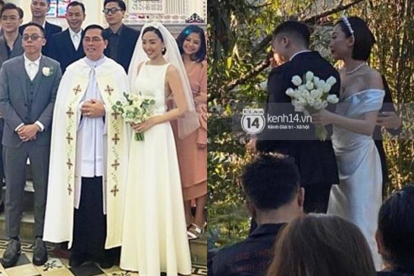 Cận cảnh 2 chiếc váy cưới của Tóc Tiên: đơn giản nhưng vẫn sang và gợi cảm hết nấc