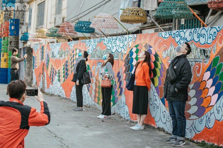 Chế tác khu bãi rác Phúc Tân thành không gian nghệ thuật từ phế liệu