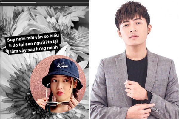 """Diễn viên Puka đăng trạng thái rầu rĩ sau tin đồn hẹn hò với """"hot boy"""" Gin Tuấn Kiệt"""