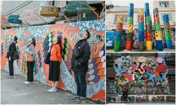 """""""Chế tác"""" khu bãi rác Phúc Tân thành không gian nghệ thuật từ phế liệu"""