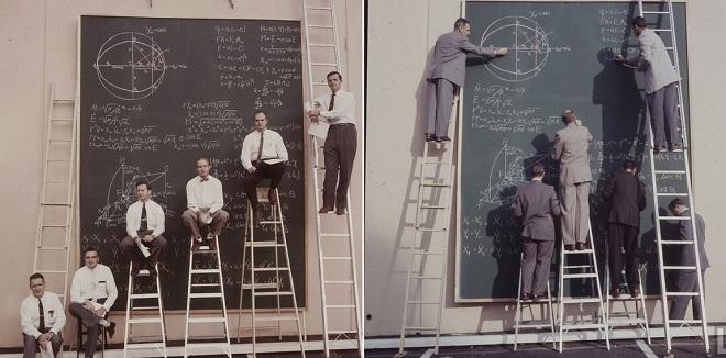 """Bái phục cách tính toán """"chất ngầu"""" của các nhà khoa học NASA thời chưa có máy tính"""