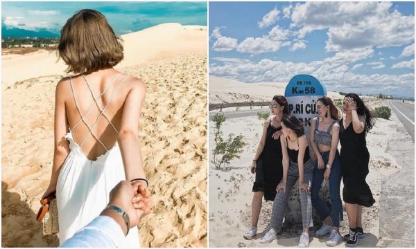 """""""Mách nhỏ"""" list 4 đồi cát miền Trung đẹp mê li đã đi thế nào cũng có rổ ảnh đẹp mang về"""