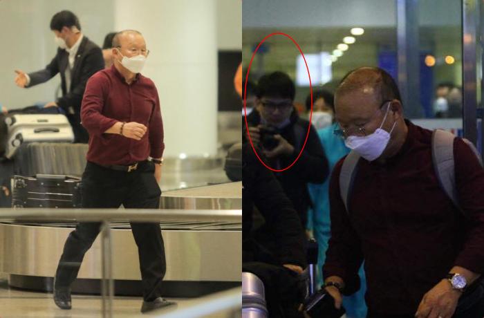 Hàn Quốc đang đại dịch, thầy Park và vợ cấp tốc sang Việt Nam tránh nạn nhưng bị kiểm tra nghiêm ngặt ở sân bay