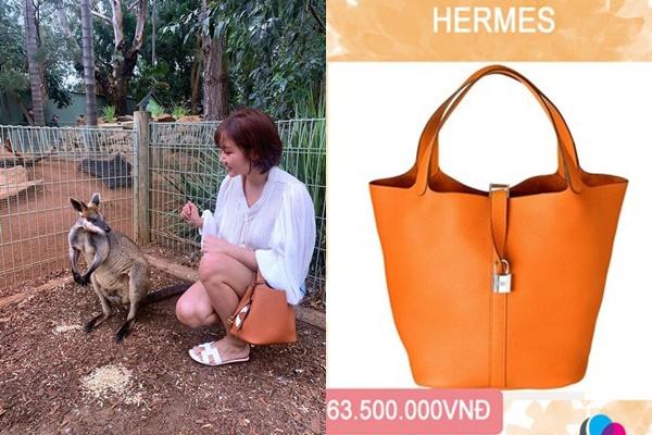Nghiền đồ hiệu, Văn Mai Hương đi sở thú cũng phải mang phụ kiện lên đến cả trăm triệu trên người