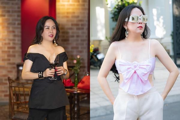 """Bỏ qua khoản ăn mặc """"thảm họa"""", Phượng Chanel vẫn khiến nhiều người ngỡ ngàng về vóc dáng cực thon gọn ở tuổi 43"""