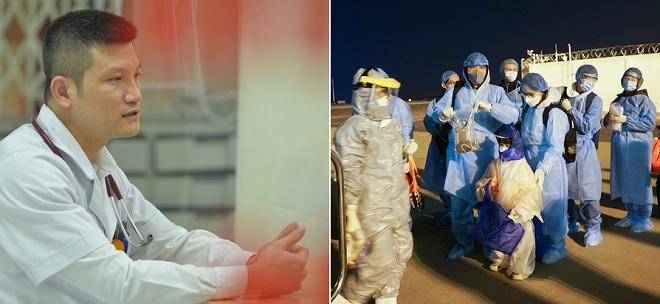 """Bác sĩ tự cách ly vì đưa 30 công dân từ Vũ Hán về nước: """"Chúng tôi đều thấy mình mạnh mẽ hơn từ một chuyến bay đặc biệt"""""""