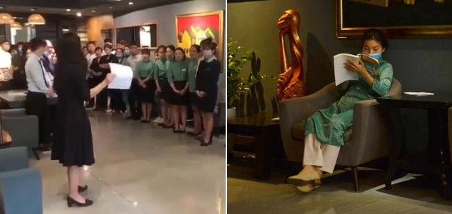 """Nữ quản lý khách sạn khóc thông báo nhân viên nghỉ vì Covid-19: """"Chắc phải đóng cửa thêm 4 cơ sở khác"""""""