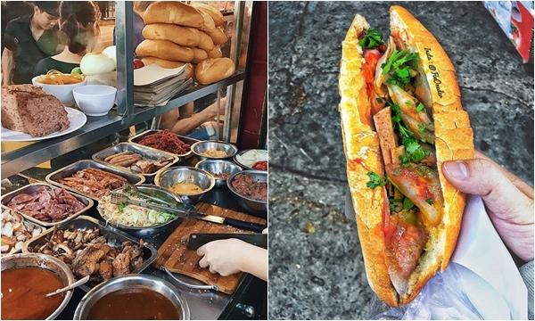 """Điểm danh những hiệu bánh mì kẹp """"trứ danh"""" Việt Nam, nhân đầy ú ụ phải gọi là """"ngập miệng"""""""