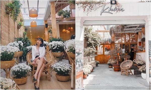 """""""Siêu lòng"""" quán cafe ngập hoa cúc trắng giữa lòng Sài Gòn tưởng đâu Đà Lạt"""