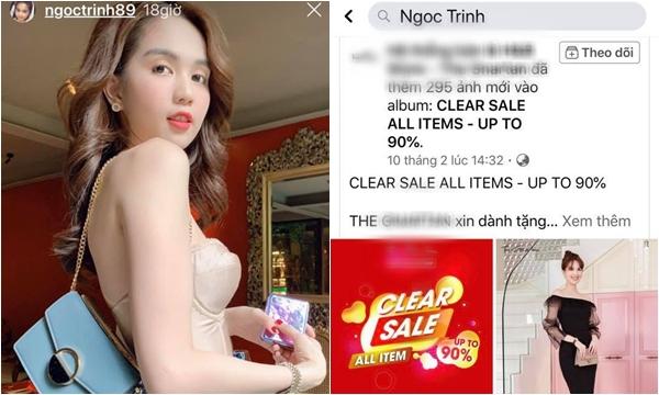 """Shop online được Ngọc Trinh tag tên bị """"dân sành"""" bóc mẽ bán hàng fake, bị khui chỉ biết xin lỗi rối rít"""