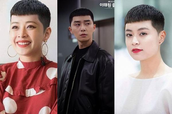 """Khi mỹ nhân Việt thử cắt tóc """"hạt dẻ"""" (Itaewon Class): Đẹp như Chi Pu chẳng cần nói, nhưng đến Nam Em thì..."""