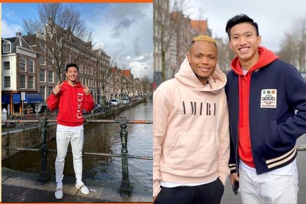Văn Hậu thể hiện thu nhập không hề nhỏ ở Hà Lan khi sắm ngay cả cây đồ hiệu xa xỉ chỉ để dạo phố