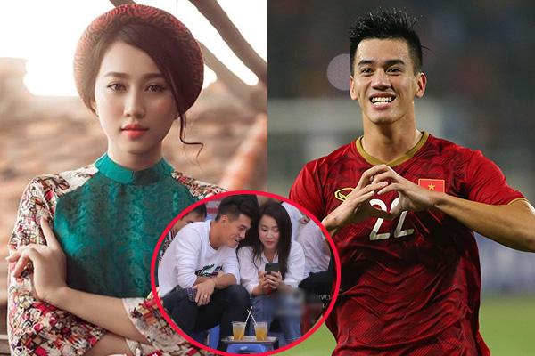 """Hết """"thả thính"""", Tiến Linh bị bắt gặp đang hẹn hò quán trà chanh với """"bạn gái Sơn Tùng M-TP"""", làng bóng sắp có tin vui mới?"""
